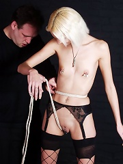 Skinny Blondes Bondage